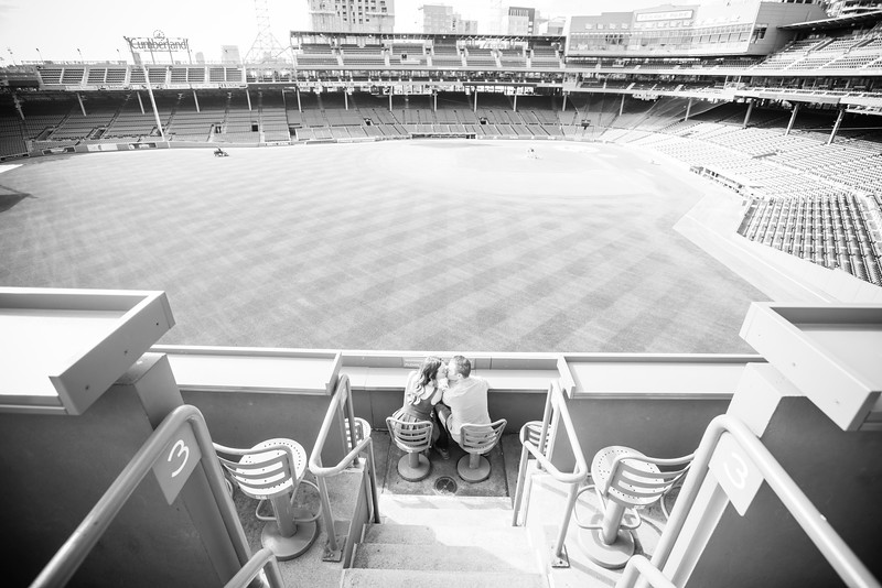 Fenway Park Engagement Session