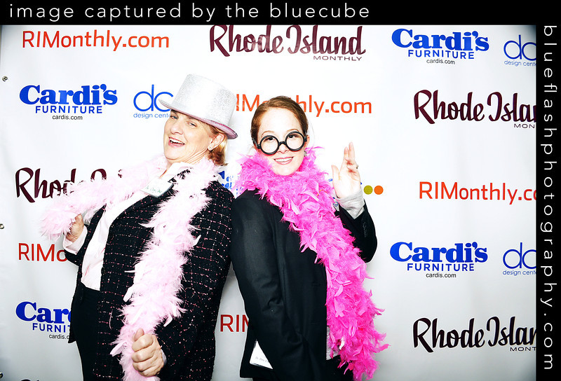 RI Monthly Enterprising Women - RI Photobooth - Bluecube