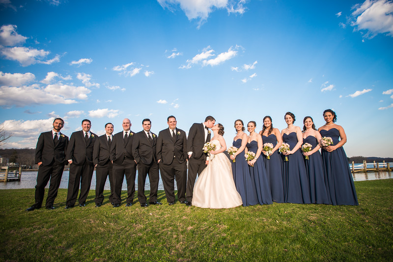 The Riverhouse at Goodspeed Station Wedding